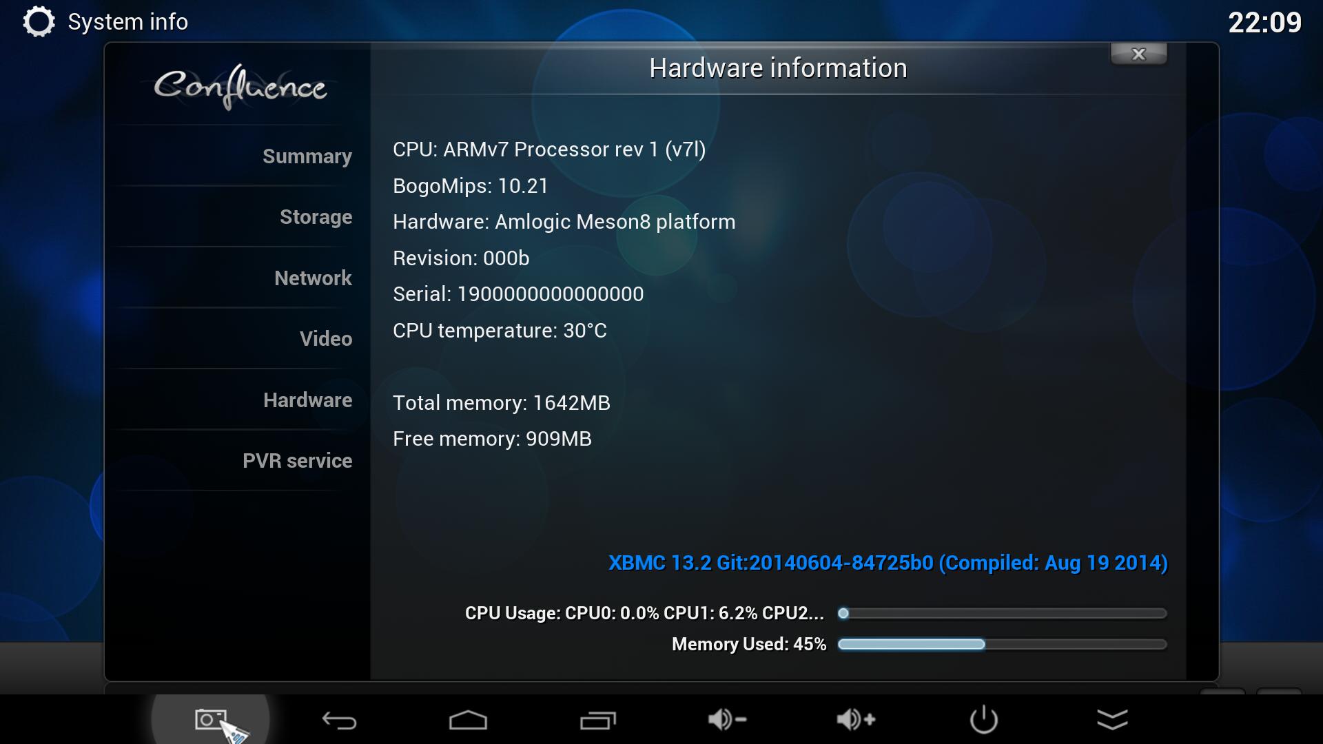 Minix Neo X8-H sistema
