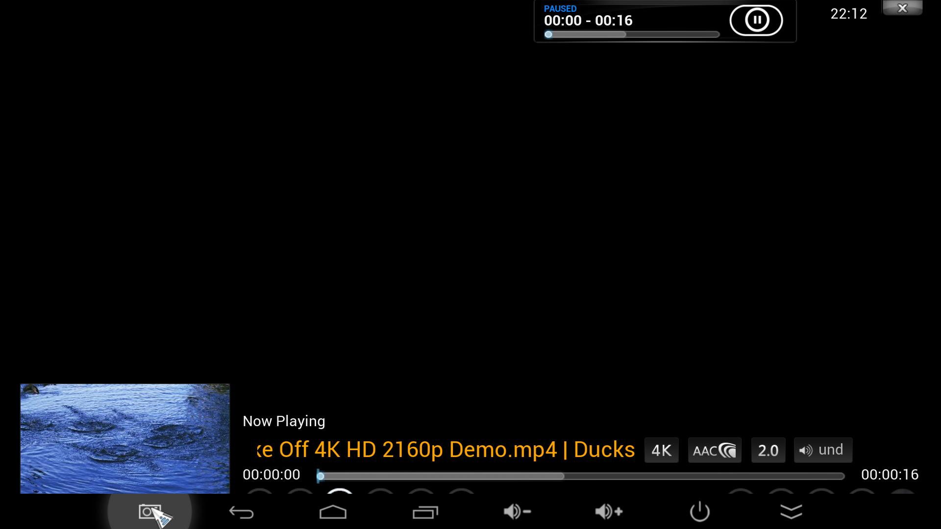 Minix neo x8 h 4k video