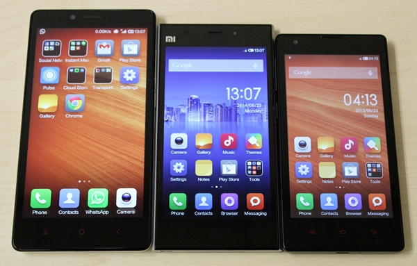 Xiaomi_Redmi_Note mi3 mi1s